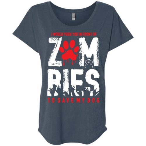 Zombies Ladies' Slouchy T-Shirt
