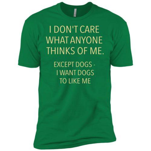 Except Dogs Premium T-Shirt