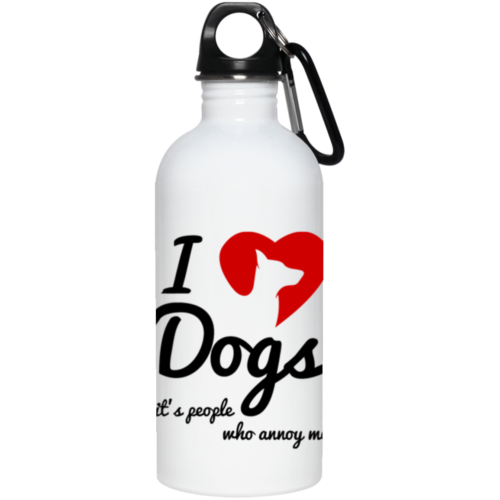 People Annoy Me Stainless Steel Water Bottle