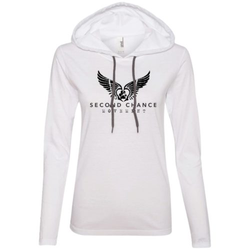 Second Chance Movement Ladies' Lightweight T-Shirt Hoodie