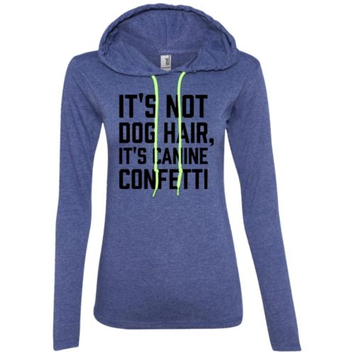 Canine Confetti Fitted T-Shirt Hoodie