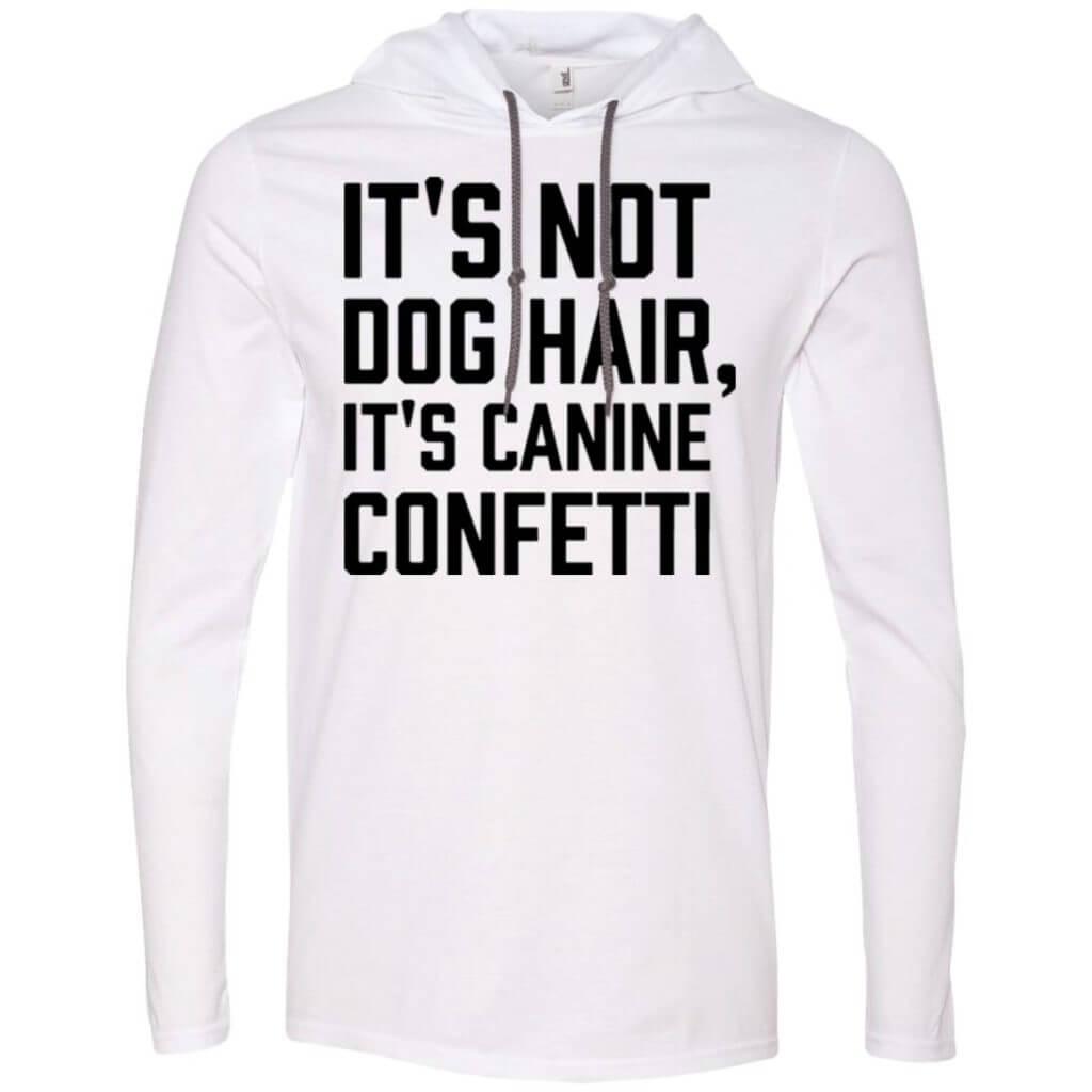 Canine Confetti Lightweight T-Shirt Hoodie