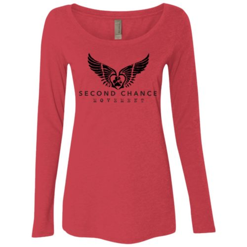 Second Chance Movement™ Fitted Scoop Neck Long Sleeve