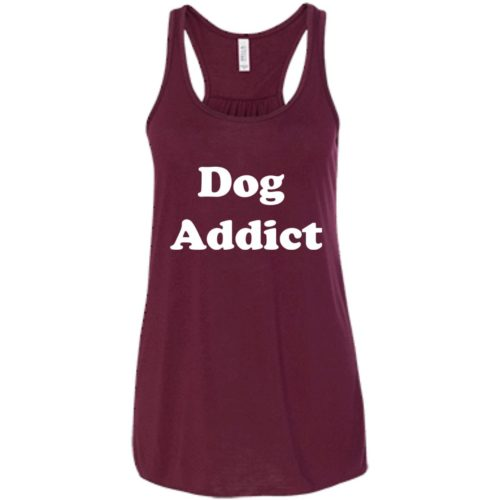 Dog Addict Flowy Tank