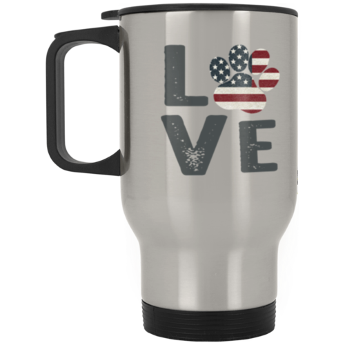 Love Paw USA Stainless Steel Travel Mug