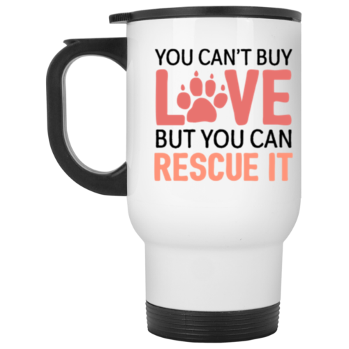 Rescue Love Stainless Steel Travel Mug