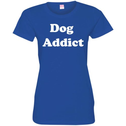 Dog Addict Fitted Tee