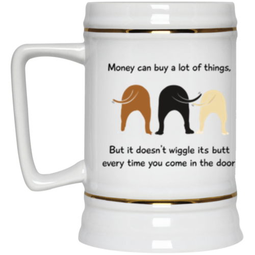 Wiggle Butt Beer Stein 22oz.