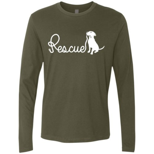 Rescue Leash Premium Long Sleeve Tee