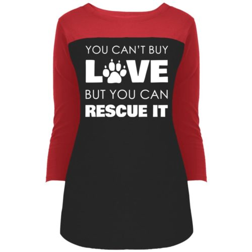 Rescue Love Colorblock 3/4 Sleeve