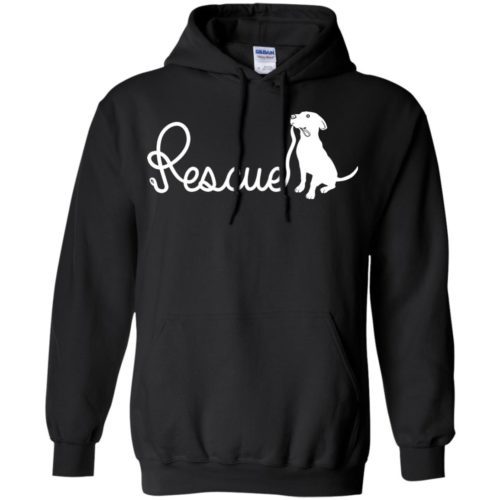 Rescue Leash Pullover Hoodie