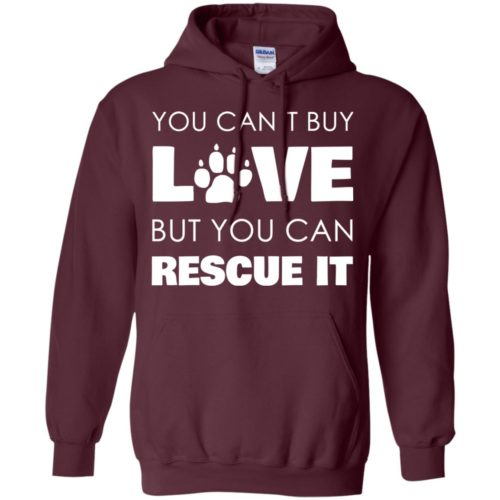 Rescue Love Pullover Hoodie
