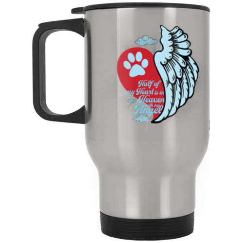 Half Of My Heart Stainless Steel Travel Mug