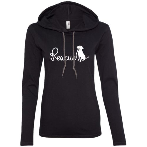 Rescue Leash Fitted T-Shirt Hoodie