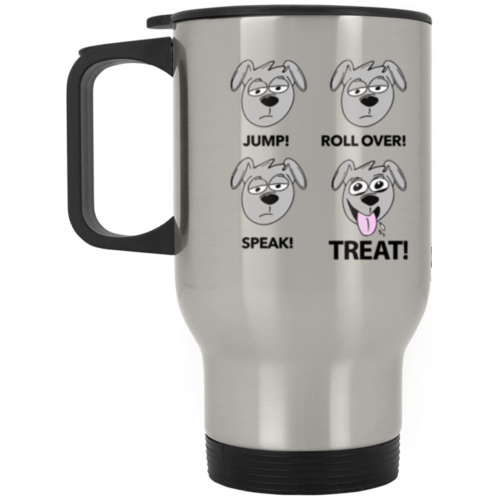 Happy Treat Stainless Steel Travel Mug
