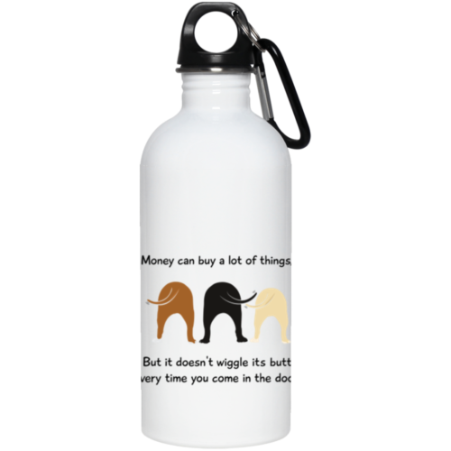 Wiggle Butt Stainless Steel Water Bottle