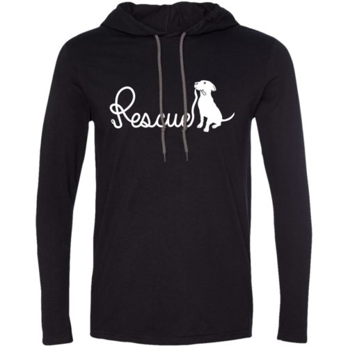Rescue Leash T-Shirt Hoodie