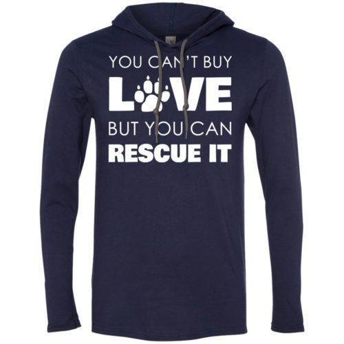 Rescue Love T-Shirt Hoodie