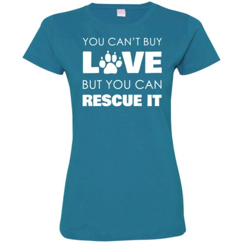 Rescue Love Fitted Tee