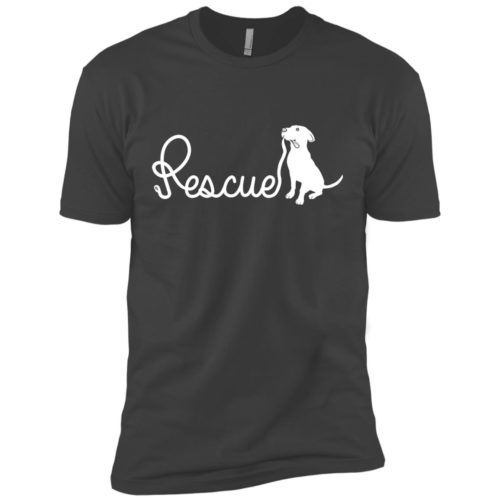 Rescue Leash Premium Tee