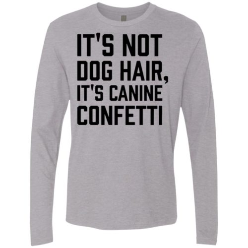 Canine Confetti Premium Long Sleeve Tee