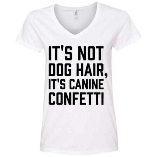 Canine Confetti V-Neck Tee