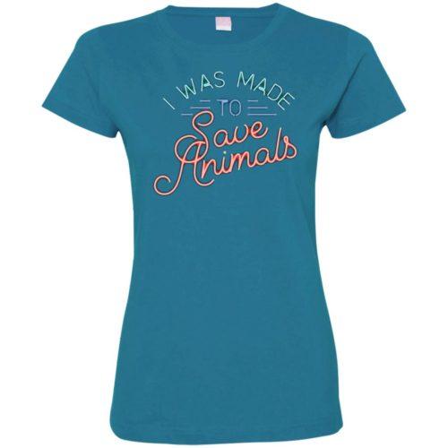 Made To Save Ladies' Premium T-Shirt
