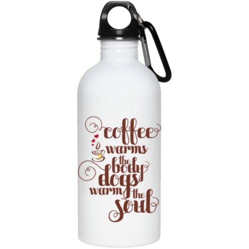 Warms The Soul Stainless Steel Water Bottle