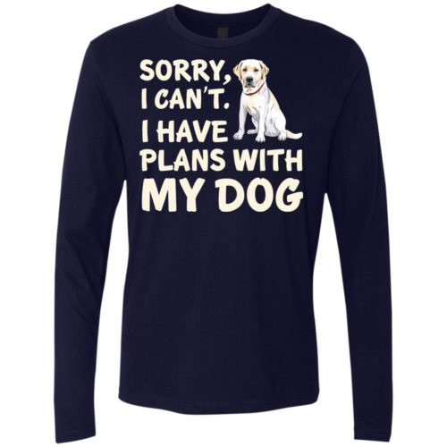 I Have Plans Premium Long Sleeve Tee