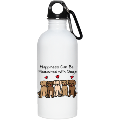 Happiness Stainless Steel Water Bottle