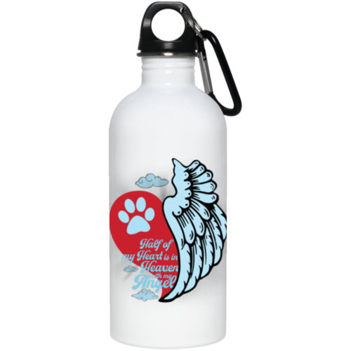 Half Of My Heart Stainless Steel Water Bottle