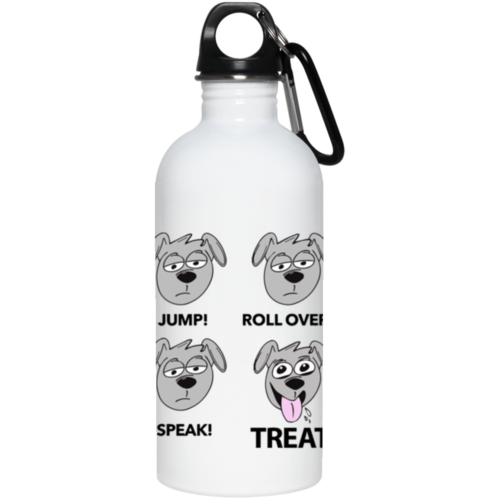 Happy Treat Stainless Steel Water Bottle