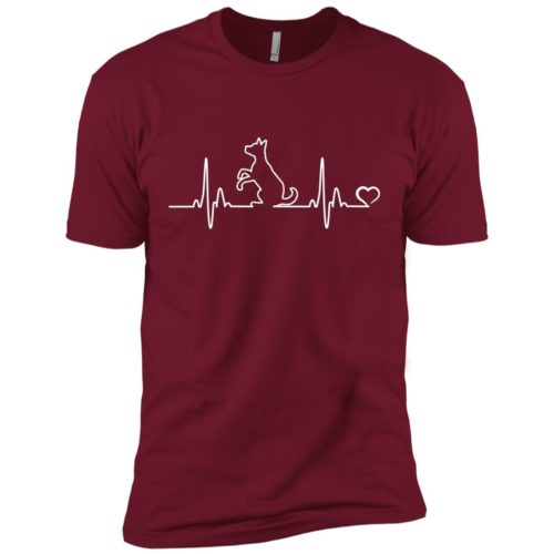Dog Heartbeat Premium Tee