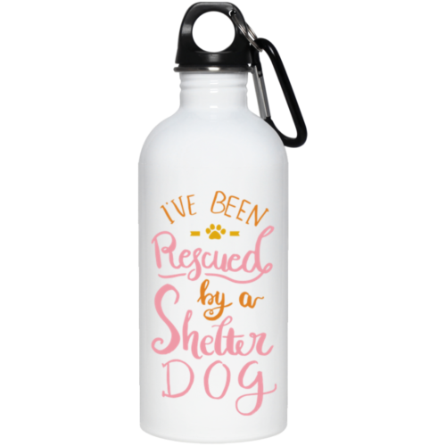 I've Been Rescued Stainless Steel Water Bottle