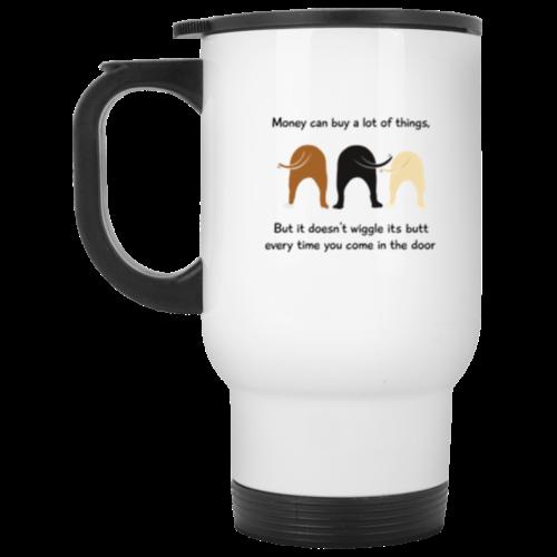 Wiggle Butt Stainless Steel Travel Mug