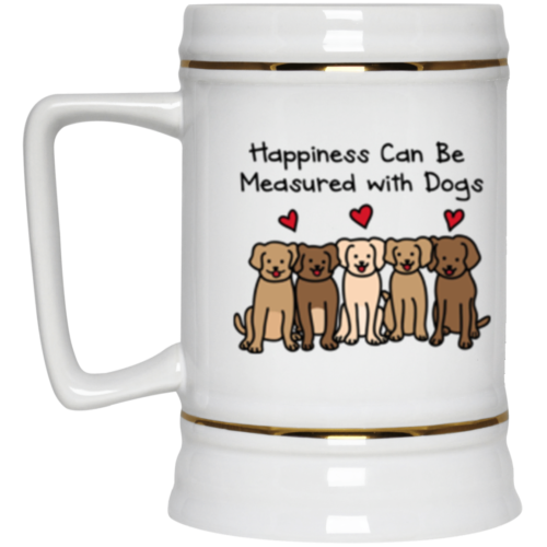 Happiness Beer Stein 22oz.