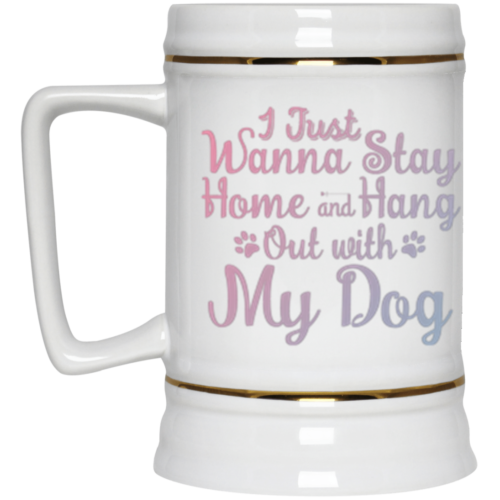 Stay Home Beer Stein 22oz.