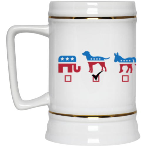 My Vote Beer Stein 22oz.