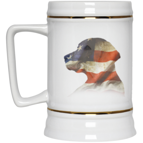 Lab USA Blend Beer Stein 22oz.
