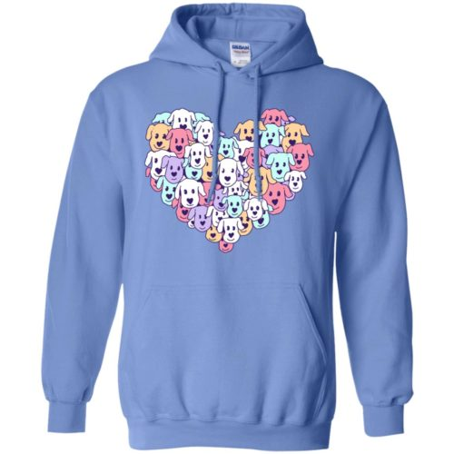 Heart Of Dogs Pullover Hoodie