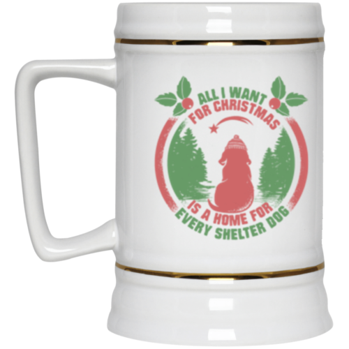 Christmas Wish Beer Stein 22oz.