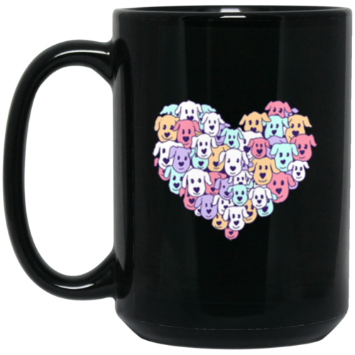 Heart of Dogs 15 oz. Mug