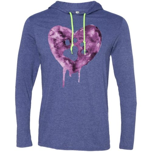 Watercolor Heart T-Shirt Hoodie
