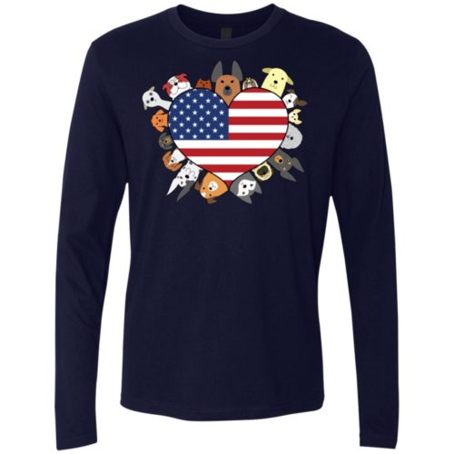 Heart Dog USA Premium Long Sleeve Tee