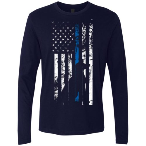 K9 Flag Premium Long Sleeve Tee