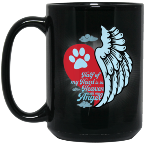 Half Of My Heart 15 oz. Mug