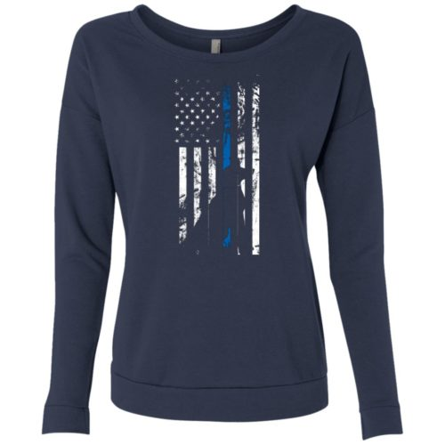 K9 Flag Scoop Neck Sweatshirt