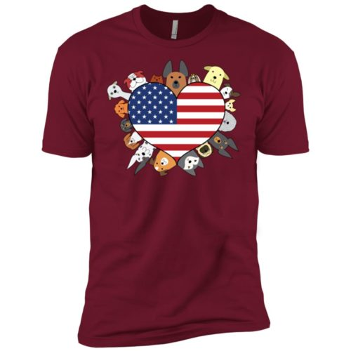 Heart Dog USA Premium Tee
