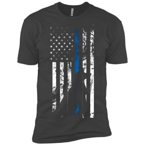 K9 Flag Premium T-Shirt