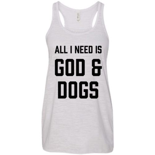 God & Dogs Flowy Tank